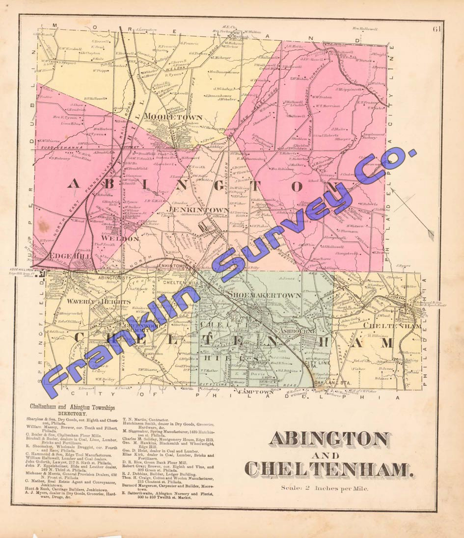 Andy S Antique Maps 1871 Montgomery